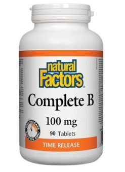 Natural Factors High Potency B100 Complex