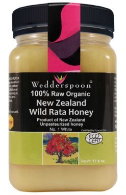 Wedderspoon Organic Wild Rata Honey