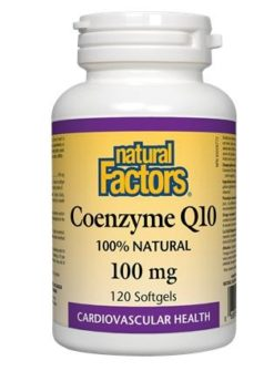 Natural Factors Coenzyme Q10