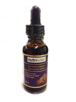 Nutriwise Panax Ginseng Extract