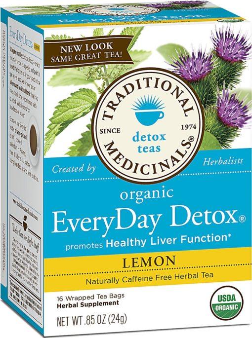 Traditional Medicinals EVERY DAY DETOX Tea