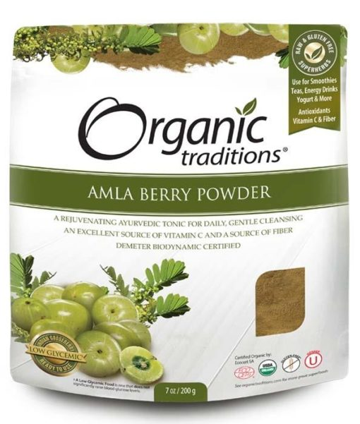 Organic Traditions Amla Berry Powder