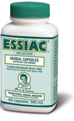 Essiac Herbal Extract Capsules x 10 bottles