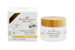 Wedderspoon Manuka Night Cream Bee Venom