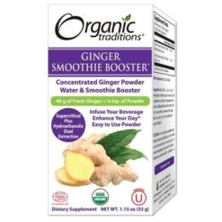 Organic Traditions Ginger Smoothie Booster