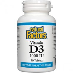 Natural Factors Vitamin D3 1000iu