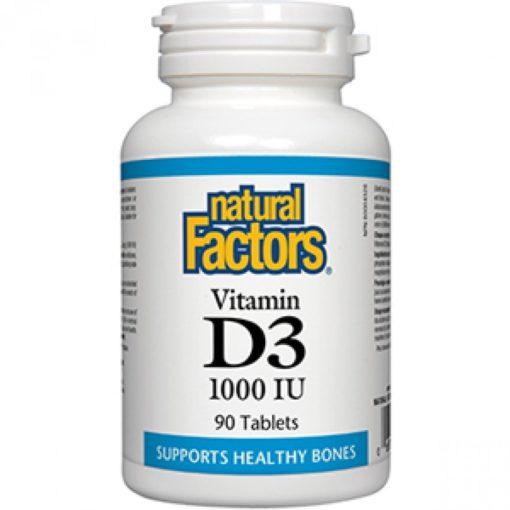 Natural Factors Vitamin D3 1000iu