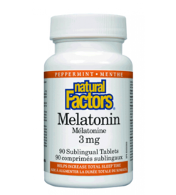 Natural Factors Melatonin 3mg