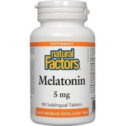 Natural Factors Melatonin 5mg