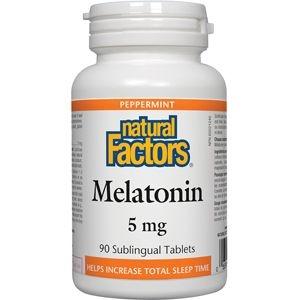 Natural Factors Melatonin 5mg