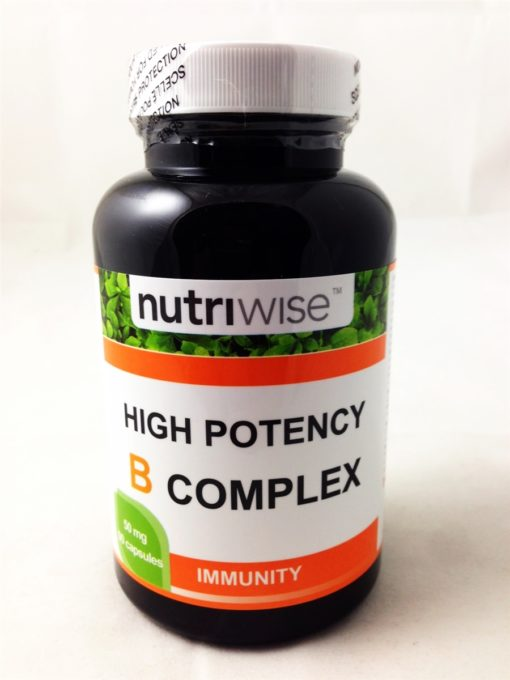 Nutriwise B Complex capsules high potency