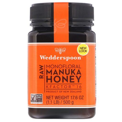 Wedderspoon Manuka Honey Kfactor 16+ X 2 BOTTLES