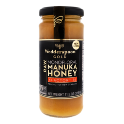 Wedderspoon GOLD Manuka Honey Kfactor 16+