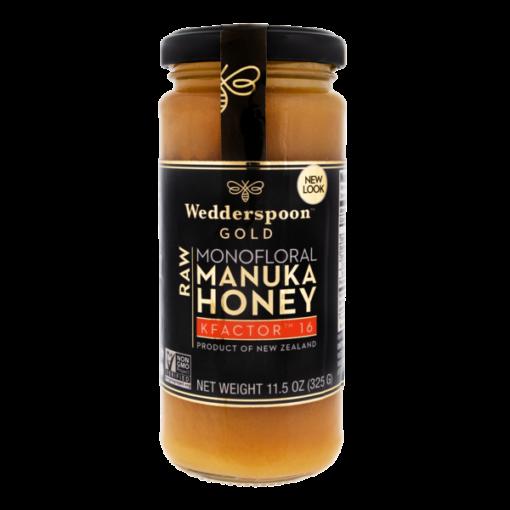 Wedderspoon GOLD Manuka Honey Kfactor 16+