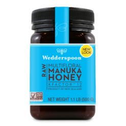 Wedderspoon Manuka Honey Kfactor 12+
